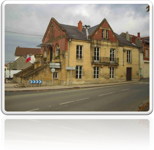 Restauration façade Mairie Buzancy Arrdennes